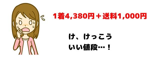 グラマラスパッツの定価は4,380円
